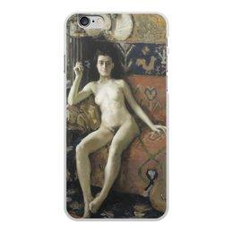 "Чехол для iPhone 6 Plus, объёмная печать ""Без маски (Аксели Галлен-Каллела)"" - картина, реализм, живопись, ню, галлен-каллела"