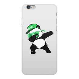 """Чехол для iPhone 6 Plus, объёмная печать """"Dab Panda """" - животные, панда, panda, дэб, dab"""