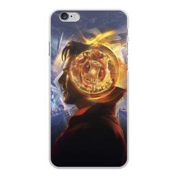 """Чехол для iPhone 6 Plus, объёмная печать """"Доктор Стрэндж"""" - marvel, мстители, марвел, доктор стрэндж, doctor strange"""