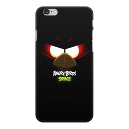 "Чехол для iPhone 6 Plus, объёмная печать ""Space (Angry Birds)"" - space, игра, мультфильм, птица, angry birds"