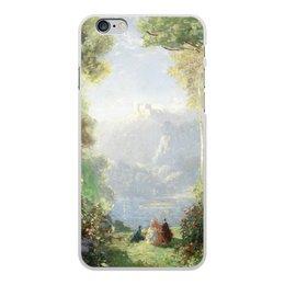 "Чехол для iPhone 6 Plus, объёмная печать ""Дворец грёз (Томас Эдвин Мостин)"" - картина, живопись, мостин, романтизм"