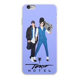 """Чехол для iPhone 6 Plus, объёмная печать """"Том и Билл"""" - alien, tokio hotel, токио хотел, каулитц, элиен"""