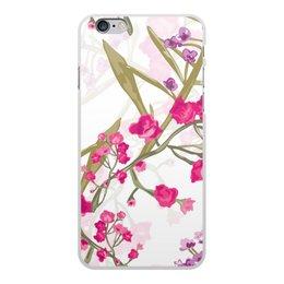 """Чехол для iPhone 6 Plus, объёмная печать """"природа"""" - лето, цветы, весна, природа, цветочки"""
