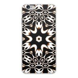 """Чехол для iPhone 6 Plus, объёмная печать """"Кофейный"""" - подарок, абстракция, фрактал, digital art, спектр"""