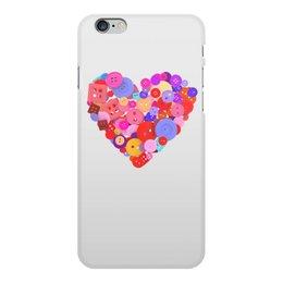 """Чехол для iPhone 6 Plus, объёмная печать """"День всех влюбленных"""" - любовь, день святого валентина, валентинка, i love you, день влюбленных"""
