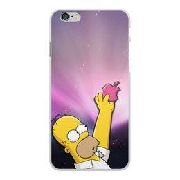 """Чехол для iPhone 6 Plus, объёмная печать """"Гомер"""" - гомер"""