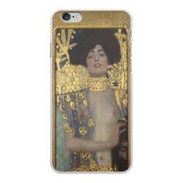 """Чехол для iPhone 6 Plus, объёмная печать """"Джудит I (Густав Климт)"""" - арт, картина, живопись, климт"""