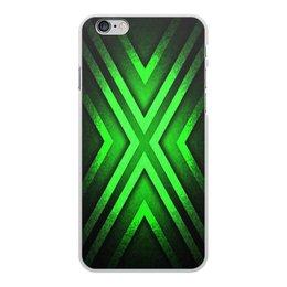 """Чехол для iPhone 6 Plus, объёмная печать """"Абстракция"""" - узор, крест, абстракция, икс"""