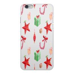 """Чехол для iPhone 6 Plus, объёмная печать """"новый год"""" - конфеты, новый год, подарки, рождество, christmas"""