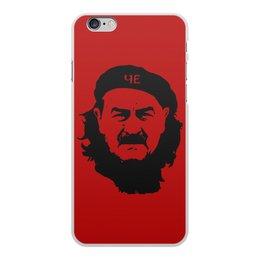 """Чехол для iPhone 6 Plus, объёмная печать """"Черчесов"""" - футбол, россия, russia, че гевара, черчесов"""