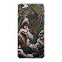 "Чехол для iPhone 6 Plus, объёмная печать ""Лето (картина Макса Вебера)"" - картина, живопись, кубизм, модерн, вебер"