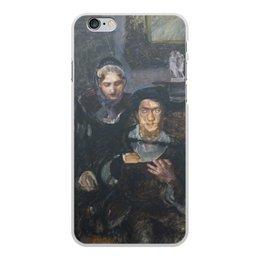 """Чехол для iPhone 6 Plus, объёмная печать """"Гамлет и Офелия (картина Михаила Врубеля)"""" - картина, живопись, шекспир, литература, врубель"""