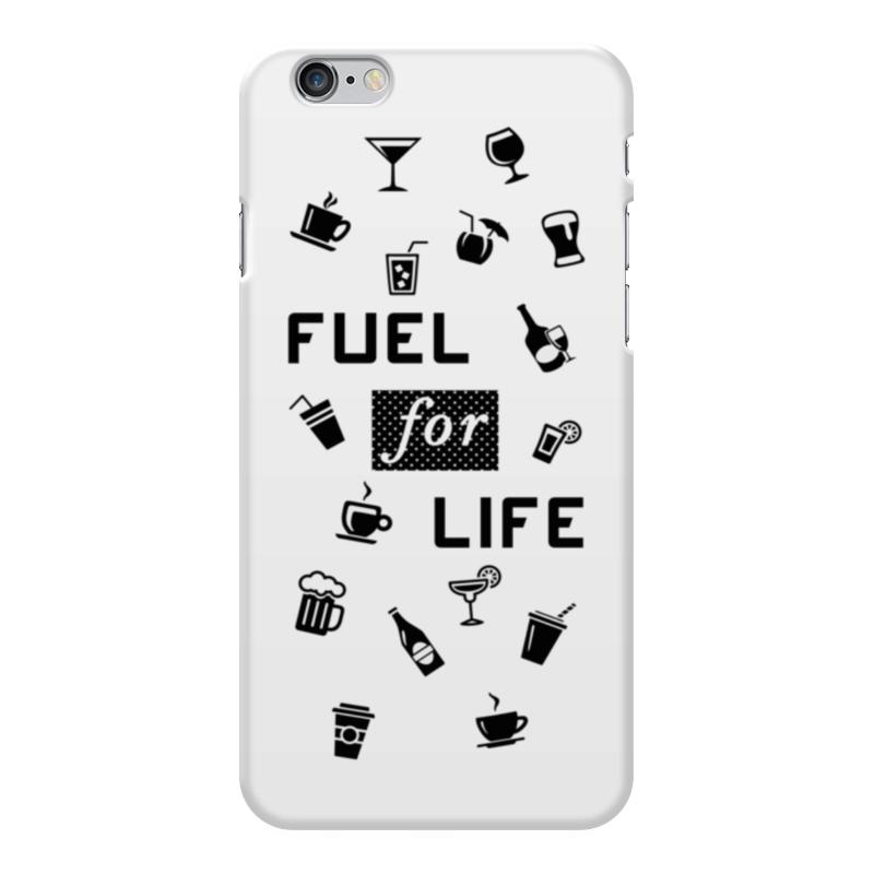 Чехол для iPhone 6 Plus глянцевый Printio Fuel for life