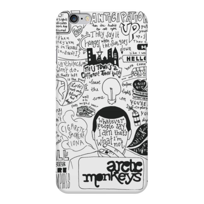 Чехол для iPhone 6 Plus глянцевый Printio Arctic monkeys чехол для iphone 6 plus глянцевый printio сериал скам
