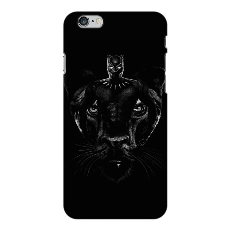 Чехол для iPhone 6 Plus глянцевый Printio Черная пантера чехол для iphone 6 plus глянцевый printio сериал скам