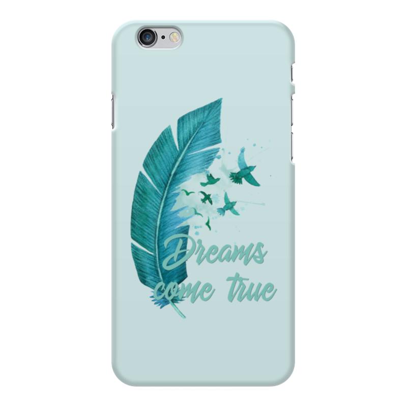 Чехол для iPhone 6 Plus глянцевый Printio Dreams come true чехол для samsung galaxy s4 printio dreams come true