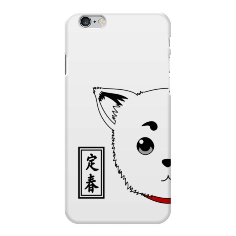 Чехол для iPhone 6 Plus глянцевый Printio Гинтама. садахару чехол для iphone 6 plus глянцевый printio сериал скам