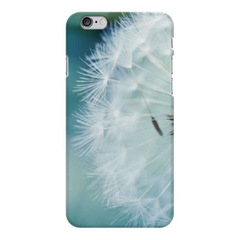 Чехол для iPhone 6 Plus глянцевый Printio Цветы аксессуар чехол elari для elari cardphone и iphone 6 plus blue
