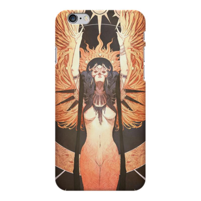 Чехол для iPhone 6 Plus глянцевый Printio Ангел ночи нашествие дни и ночи