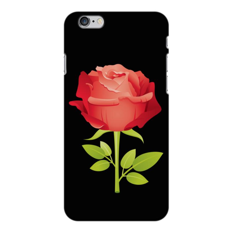 Чехол для iPhone 6 Plus глянцевый Printio Розочка чехол для iphone 6 plus глянцевый printio сериал скам
