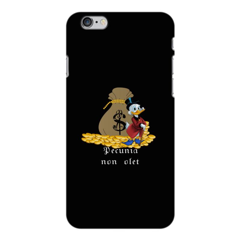 Чехол для iPhone 6 Plus глянцевый Printio Деньги не пахнут. деньги. скрудж макдак. константин петров елена перельман куда вложить деньги для чайников