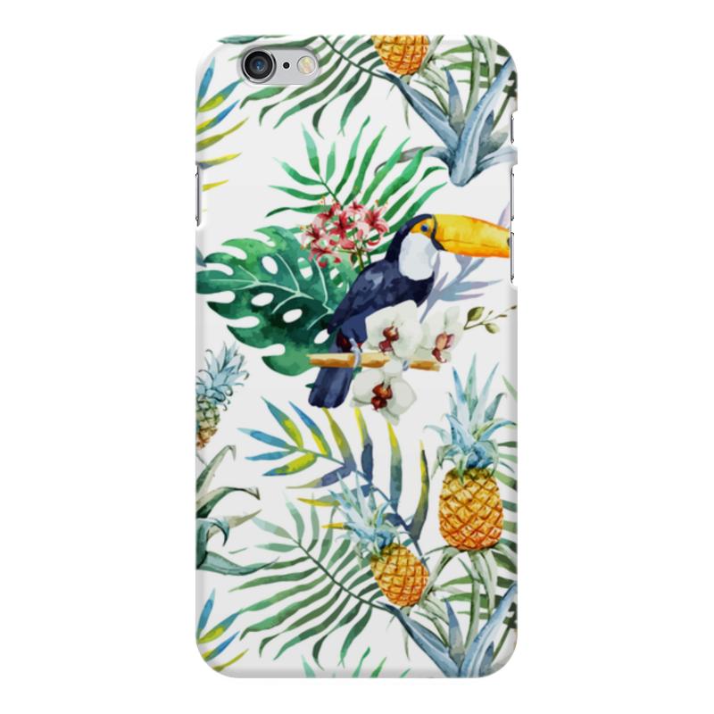 Чехол для iPhone 6 Plus глянцевый Printio Тропические птицы чехол для iphone 6 plus глянцевый printio сериал скам