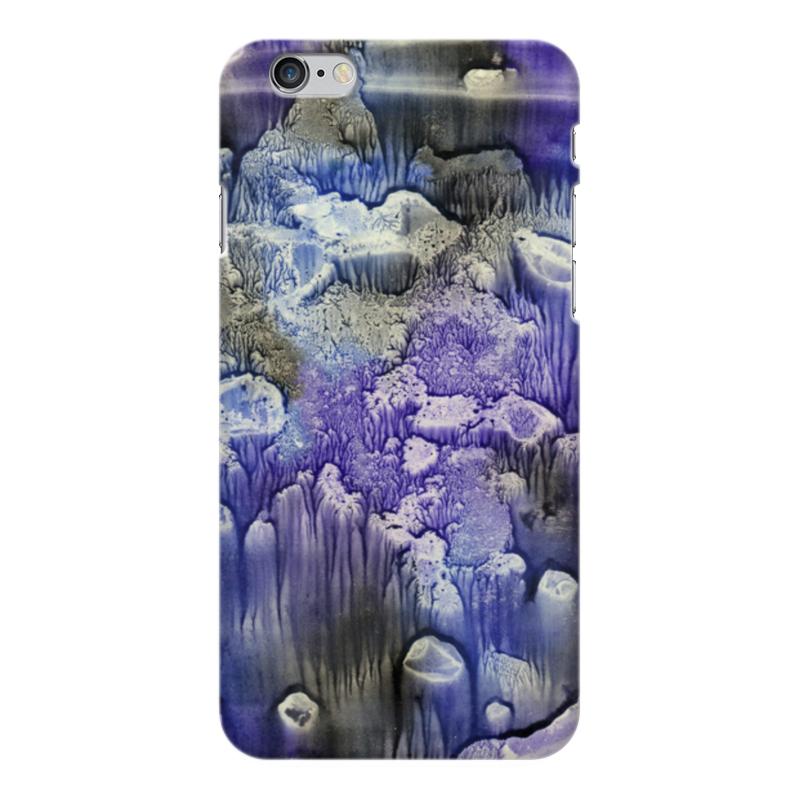 Чехол для iPhone 6 Plus глянцевый Printio Акварелька аксессуар чехол elari для elari cardphone и iphone 6 plus blue