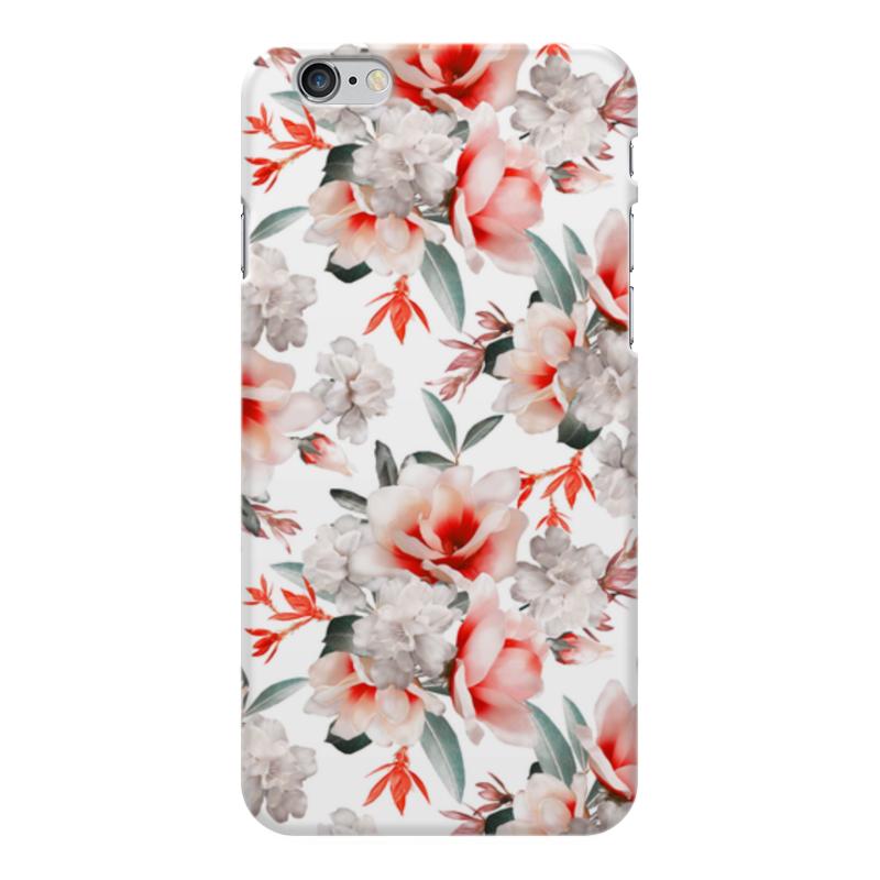 Чехол для iPhone 6 Plus глянцевый Printio Цветы printio чехол для iphone 6 plus глянцевый