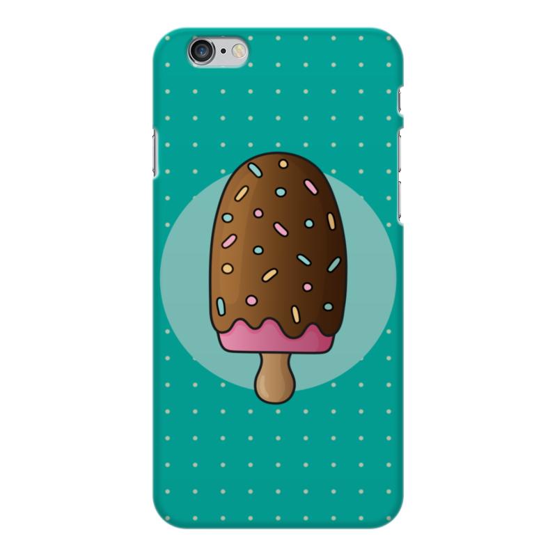 Чехол для iPhone 6 Plus глянцевый Printio Мороженое чехол для iphone 6 plus глянцевый printio сериал скам