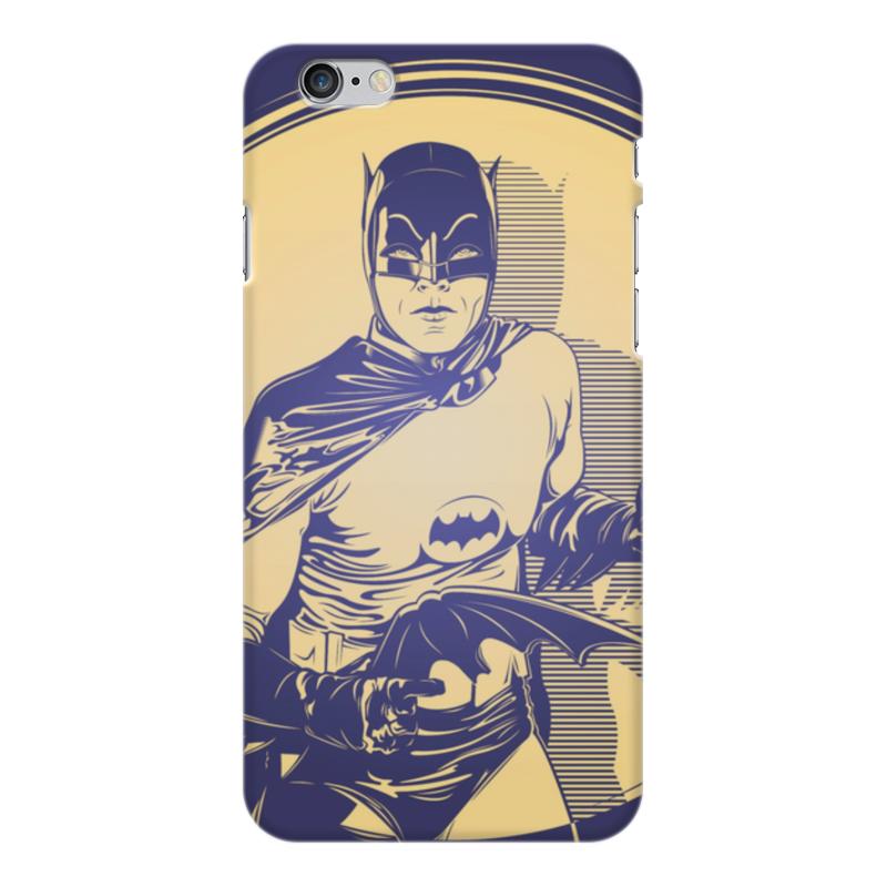 Чехол для iPhone 6 Plus глянцевый Printio Бэтмен чехол для iphone 6 plus глянцевый printio сериал скам