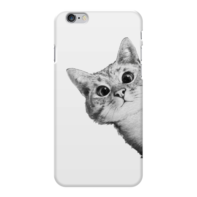 Чехол для iPhone 6 Plus глянцевый Printio Любопытный кот чехол для iphone 6 plus глянцевый printio сериал скам