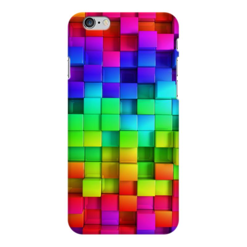 Чехол для iPhone 6 Plus глянцевый Printio Яркие краски чехол для iphone 6 plus глянцевый printio сериал скам