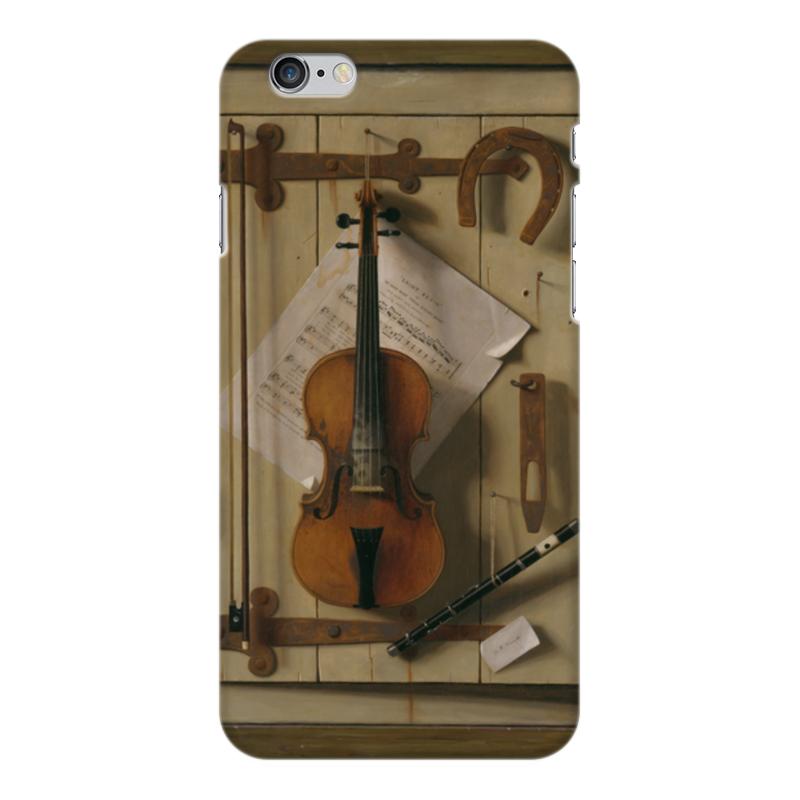 Чехол для iPhone 6 Plus глянцевый Printio Натюрморт со скрипкой (уильям харнетт) уильям уинн уэсткотт книга творения сефер йецира