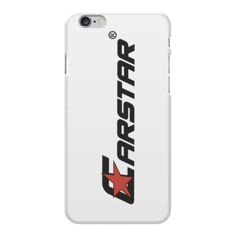 Чехол для iPhone 6 Plus глянцевый Printio Carstar рубашка поло printio carstar