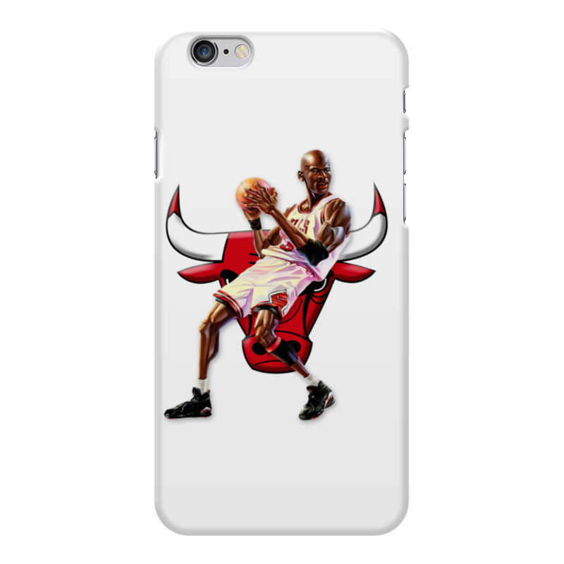 Чехол для iPhone 6 Plus глянцевый Printio Michael jordan cartooney чехол для iphone 7 глянцевый printio chicago bulls