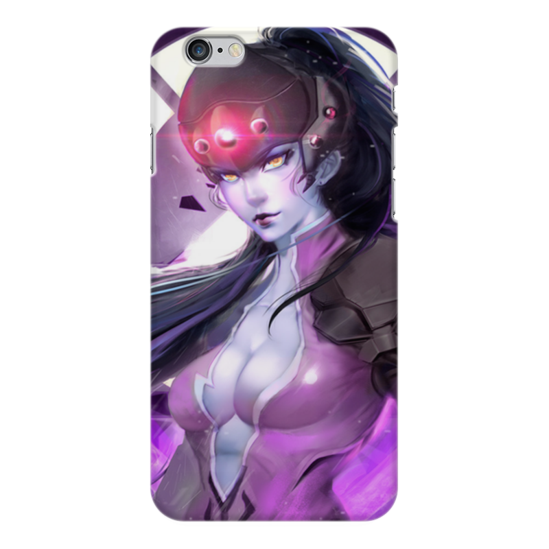 Чехол для iPhone 6 Plus глянцевый Printio Overwatch: widowmaker
