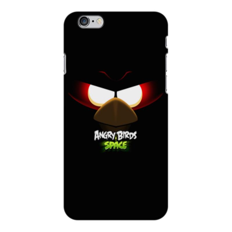 Чехол для iPhone 6 Plus глянцевый Printio Space (angry birds) чехол для iphone 6 глянцевый printio birds