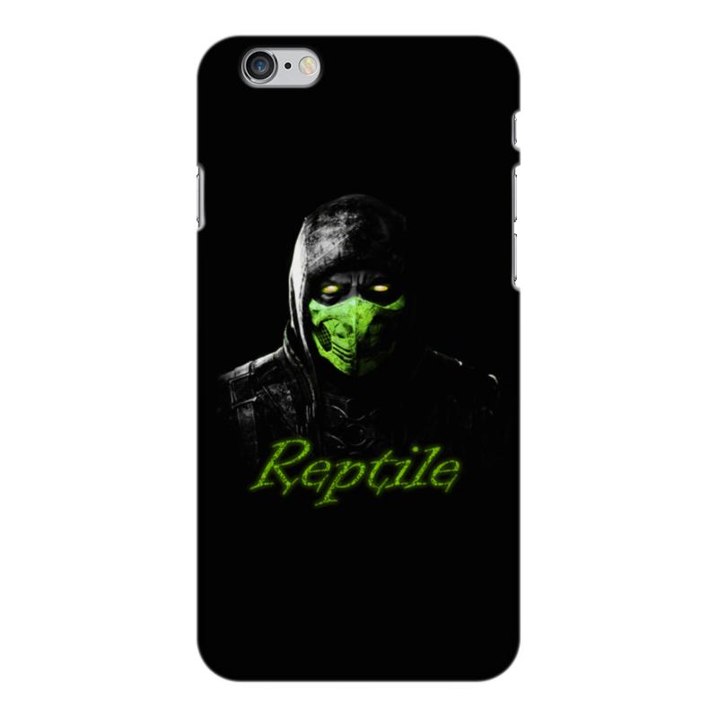 Чехол для iPhone 6 Plus глянцевый Printio Reptile аксессуар чехол ipapai для iphone 6 plus ассорти морской
