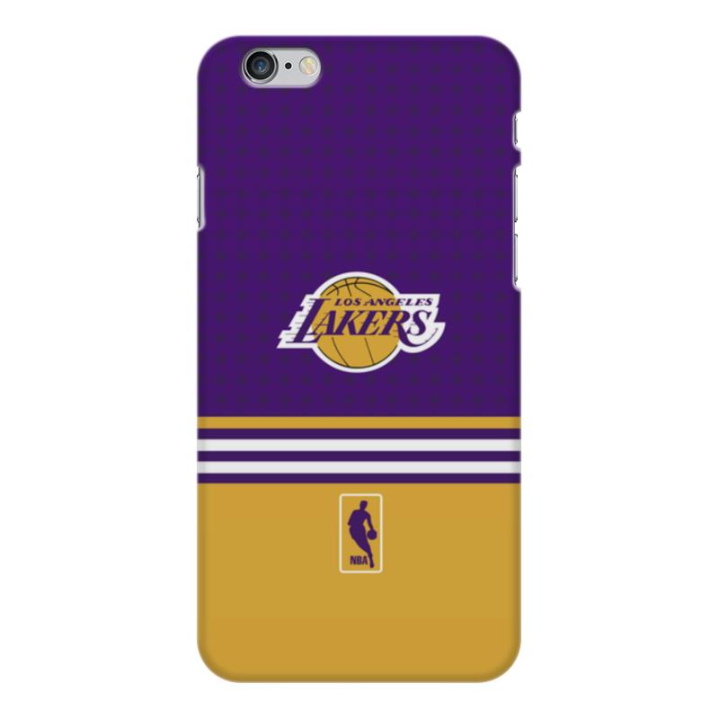 Чехол для iPhone 6 Plus глянцевый Printio Lakers case pro баскетбольную форму lakers