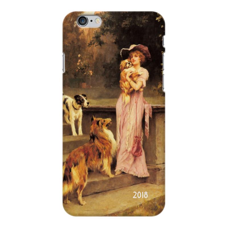 Чехол для iPhone 6 Plus глянцевый Printio 2018 год собаки чехол для iphone 6 глянцевый printio зимняя прогулка