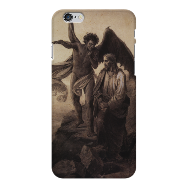 Чехол для iPhone 6 Plus глянцевый Printio Искушение христа (василий суриков) рюкзак с полной запечаткой printio искушение христа василий суриков