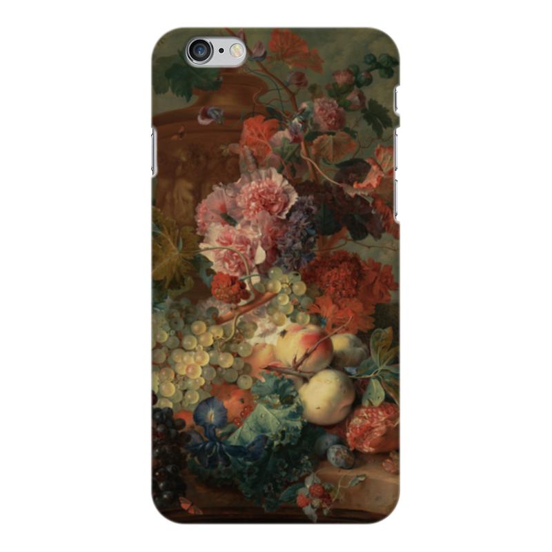 Чехол для iPhone 6 Plus глянцевый Printio Цветы (ян ван хёйсум) ян ван хейсум