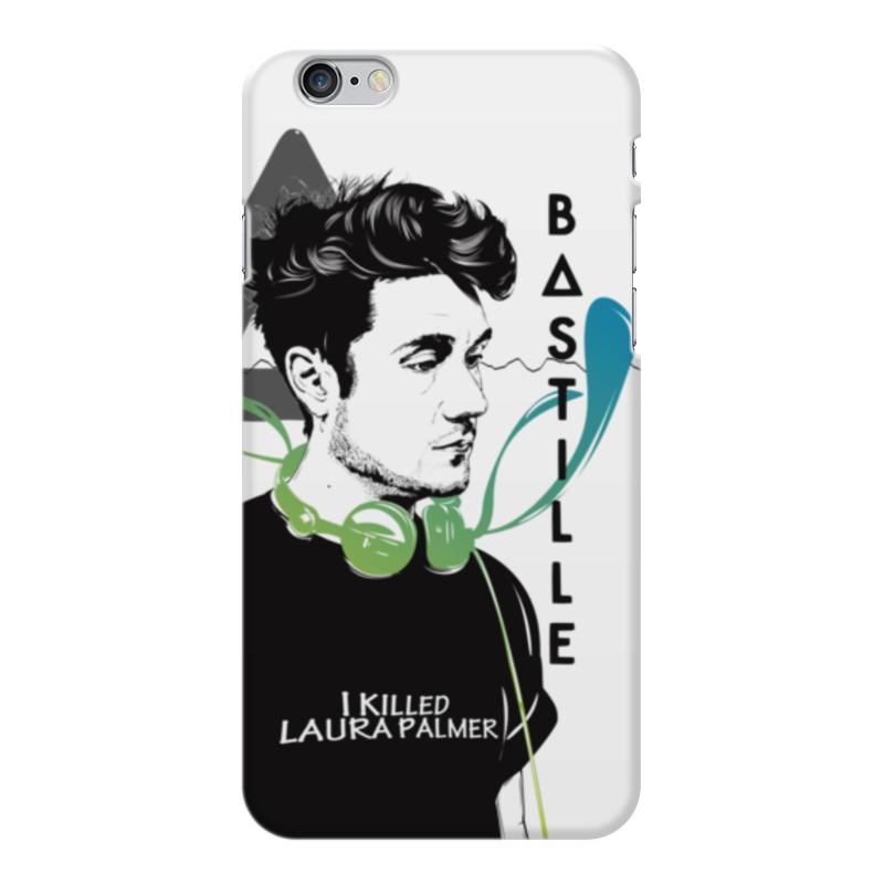 Чехол для iPhone 6 Plus глянцевый Printio Bastille аксессуар чехол elari для elari cardphone и iphone 6 plus blue