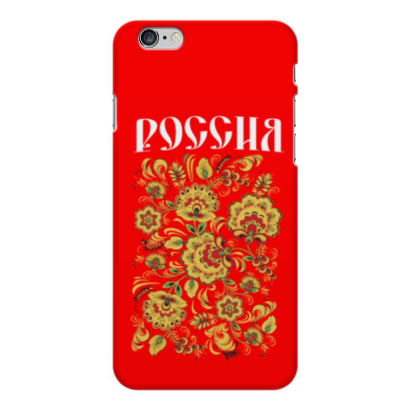 Чехол для iPhone 6 Plus глянцевый Printio Россия стоимость