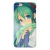 """Чехол для iPhone 6 Plus глянцевый """"Miku Hatsune Sush"""" - аниме, hatsune, мику, бесконечное лето, miku"""
