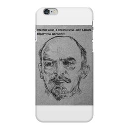"Чехол для iPhone 6 Plus глянцевый "" Вождь"" - ленин"