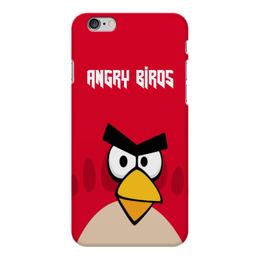 "Чехол для iPhone 6 Plus глянцевый ""Angry Birds (Terence)"" - terence, злые птички, angry birds, мультфильм, компьютерная игра"