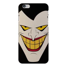 """Чехол для iPhone 6 Plus глянцевый """"Джокер"""" - joker, комиксы, batman, бэтмен, dc comics"""