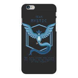 "Чехол для iPhone 6 Plus глянцевый ""Team Mystic"" - мультфильм, pokemon, покемон, мистик, mystic"
