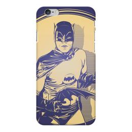 "Чехол для iPhone 6 Plus глянцевый ""Бэтмен"" - comics, комиксы, batman, бэтмен, dc comics"